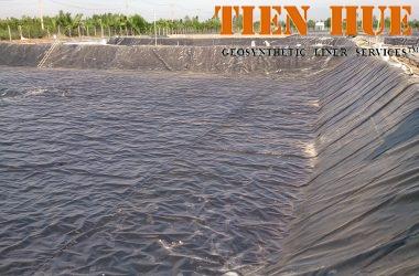 Lót đáy hồ bơi bằng màng chống thấm HDPE