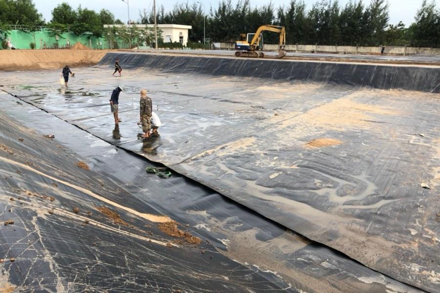 Ứng dụng củ màng chống thấm HDPE