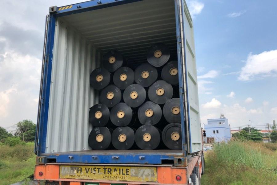 Màng chống thấm HDPE Solmax được phân phối bởi Tiến Huệ